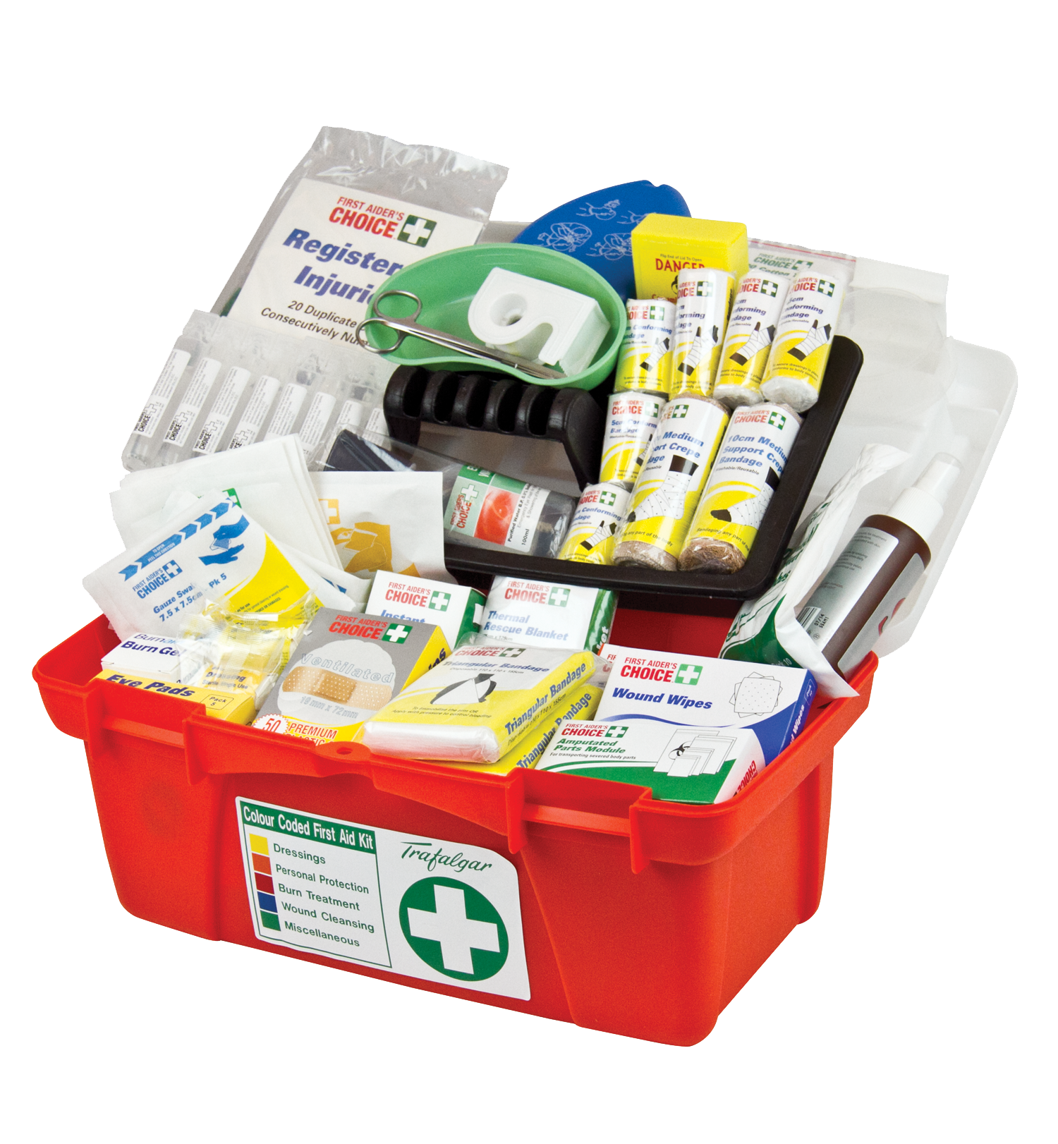 Medicines in First Aid Box PNG Image