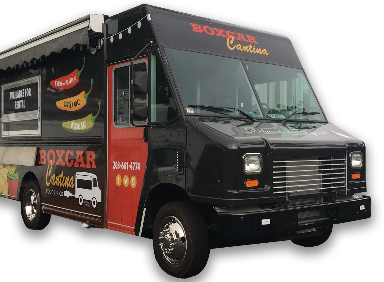 Mexican Food Truck BoxCar