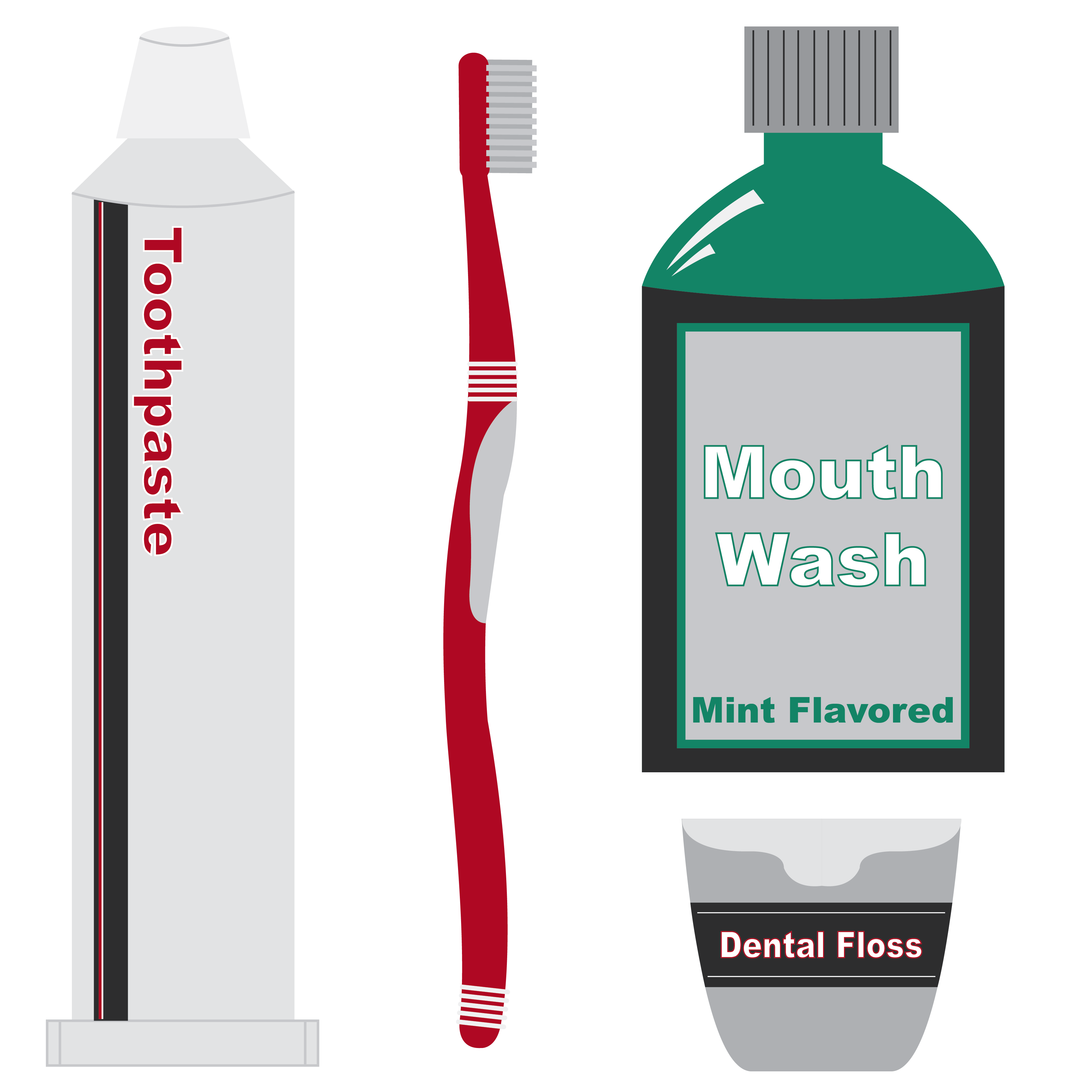 Mouthwash Objects