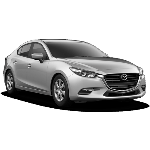 New 2018 Mazda3 Sport Base PNG Image