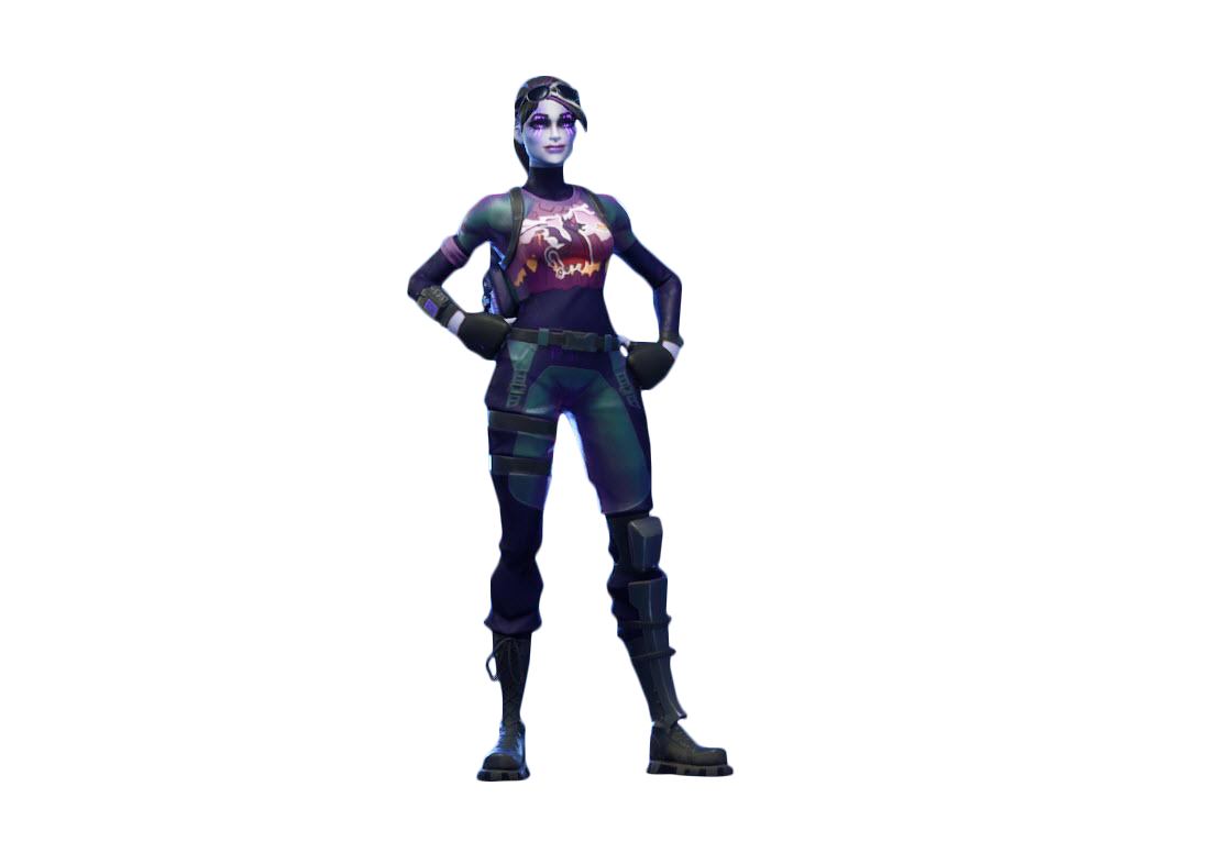 New Dark Bomber Fortnite Full Skin PNG Image
