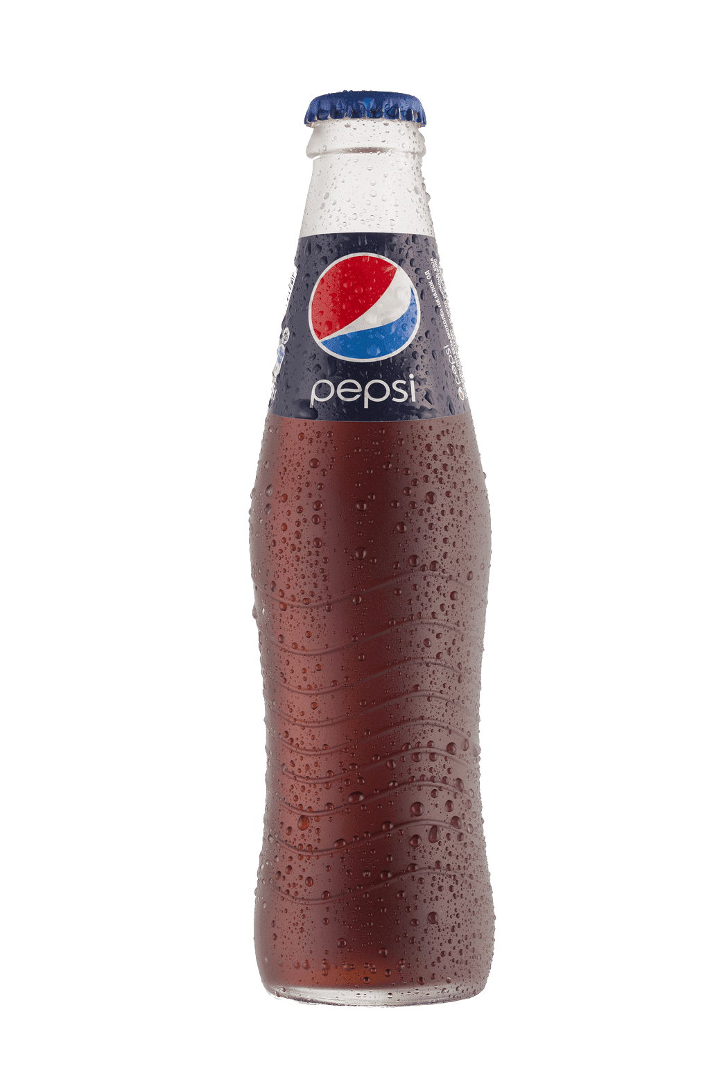 Pepsi Bottle Wet