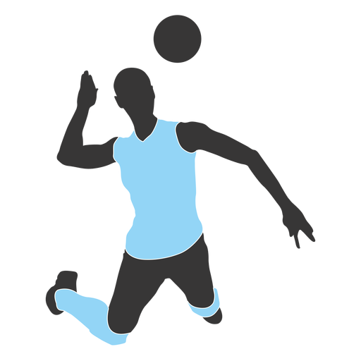 Person Play Volleyball