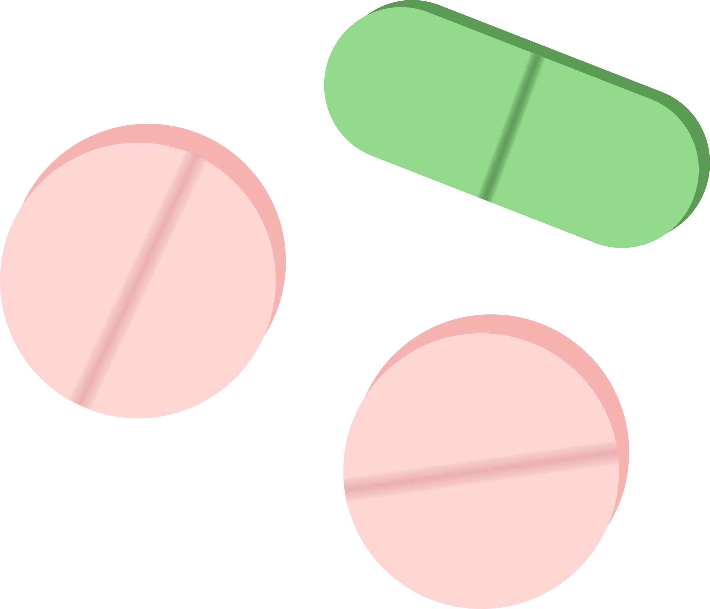 Pink and Green Tablets