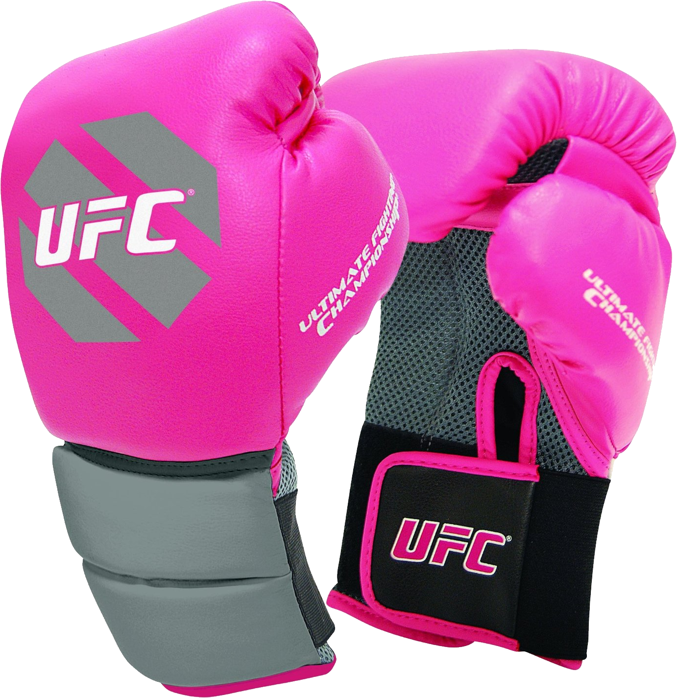 Pink Boxing Gloves PNG Image
