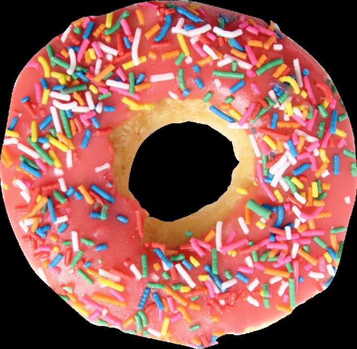 Pink Creamy Donut
