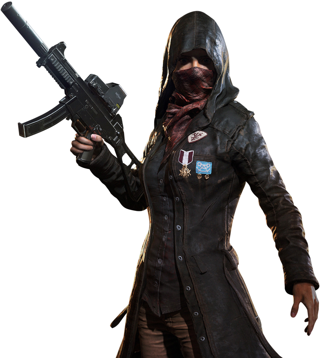 Playerunknowns Battlegrounds Female Agentpubg