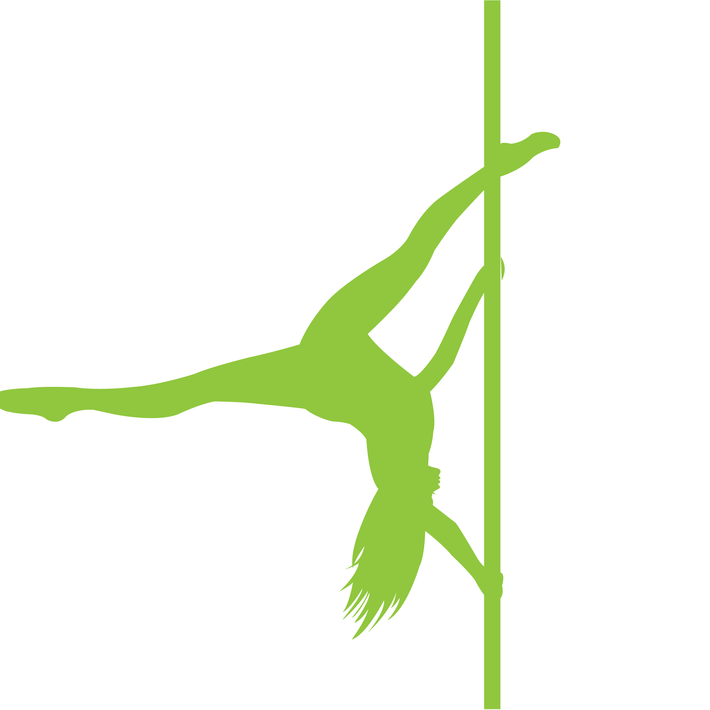 Pole Dancer PNG Image