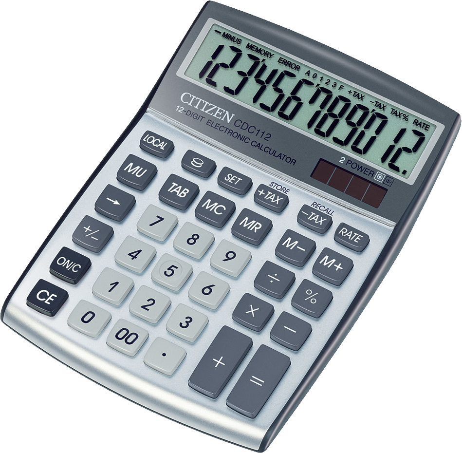 Math Calculator PNG Image