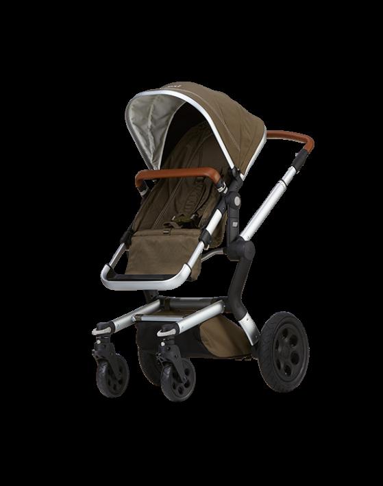4 Wheel Pram Baby PNG Image