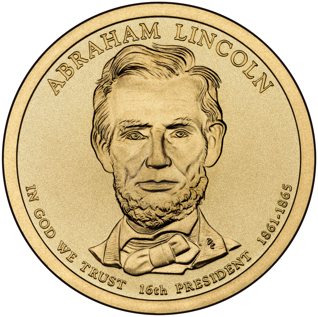 Abraham Linkcoln Gold Coin