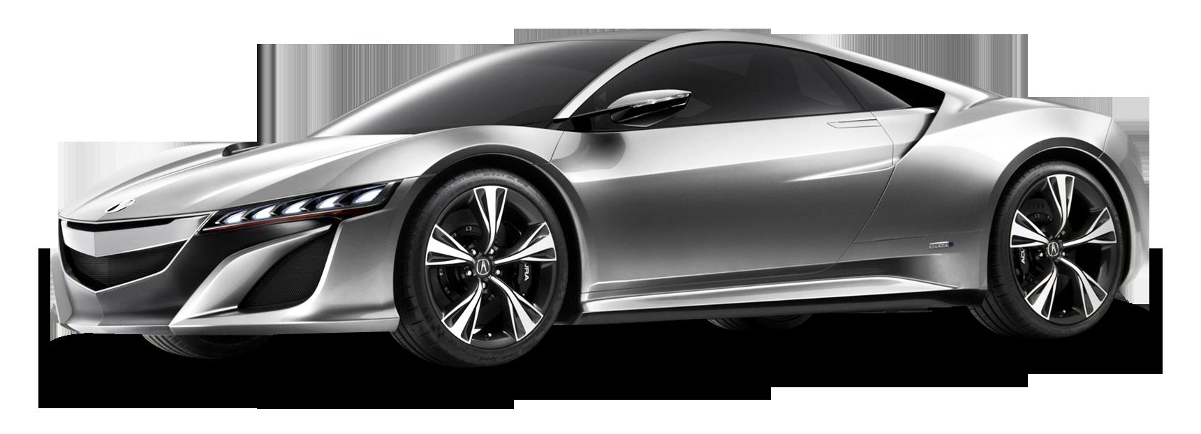 Acura NSX Gray Car