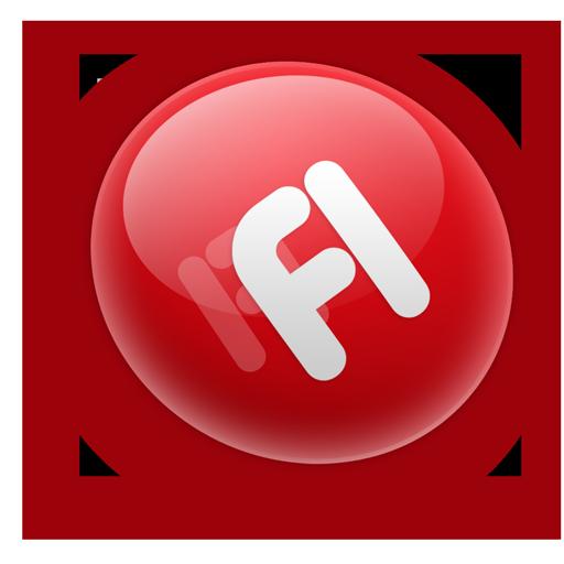 Adobe Flash Logo Icon