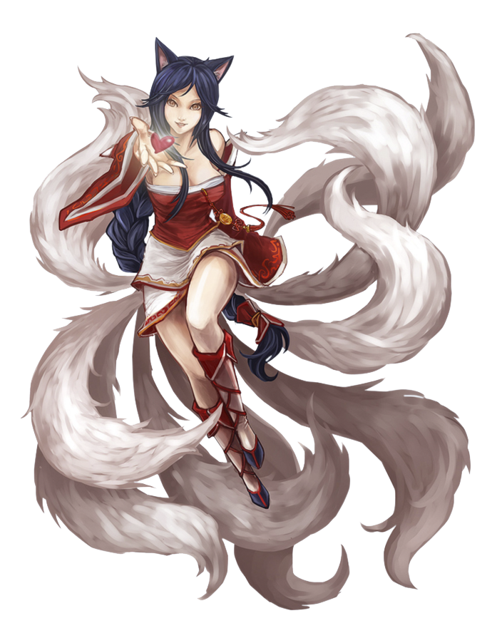 Download Ahri From League Of Legends Png Image For Free