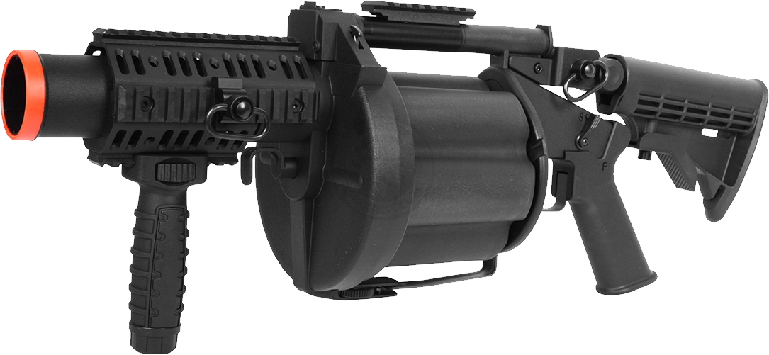 Air Soft Grenade Launcher PNG PNG Image