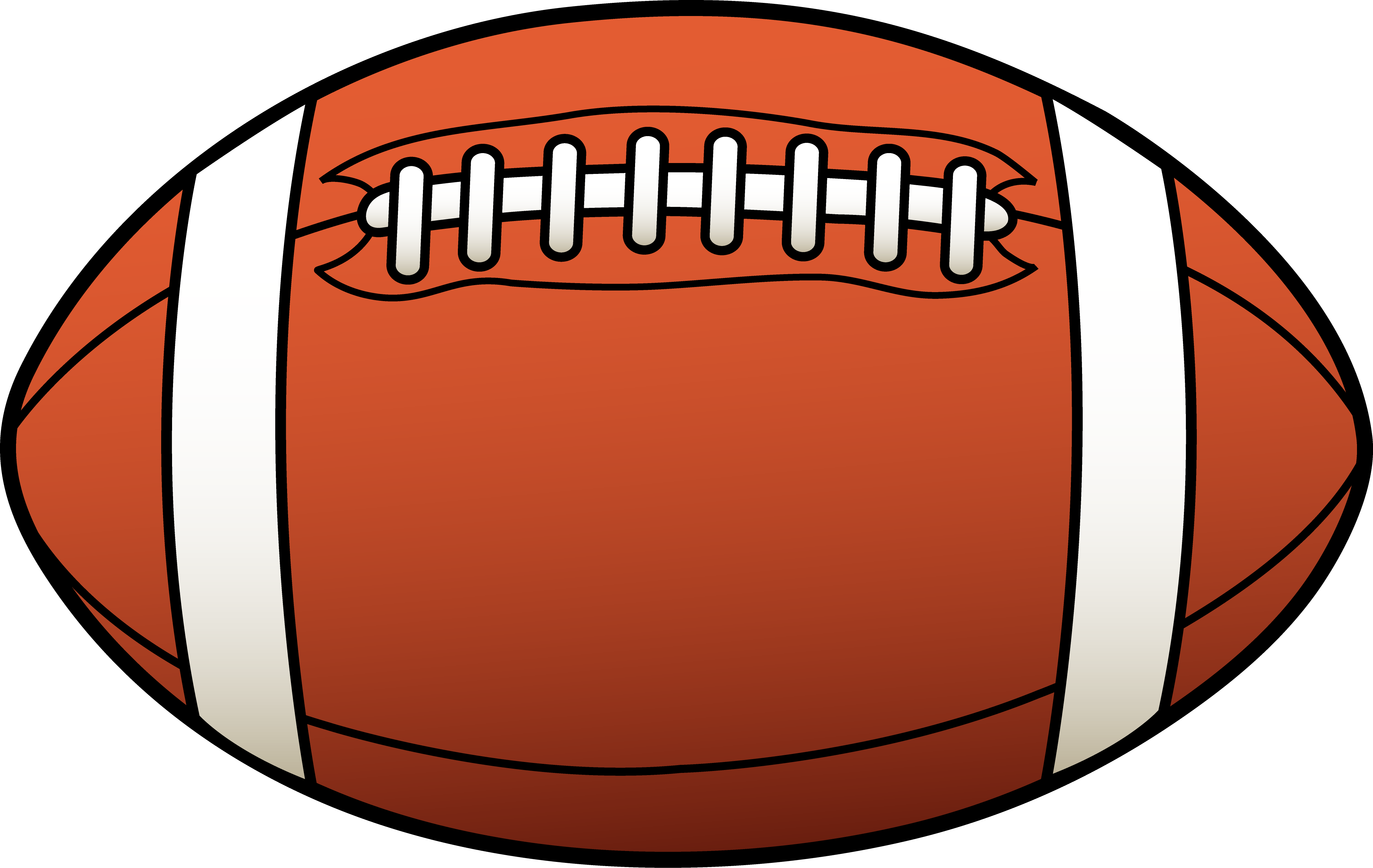 American Football Ball Clipart PNG Image