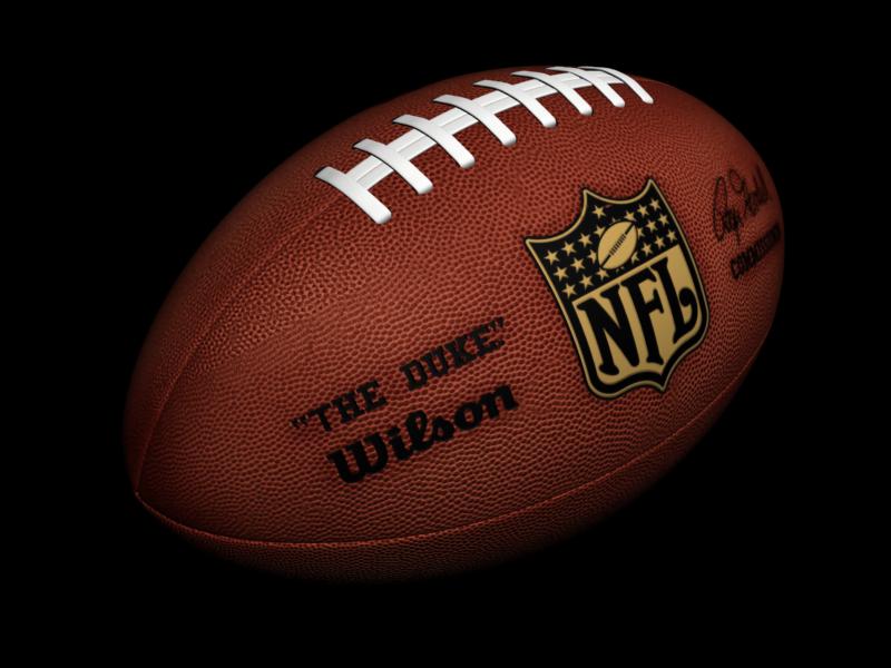 American Football Ball PNG Image