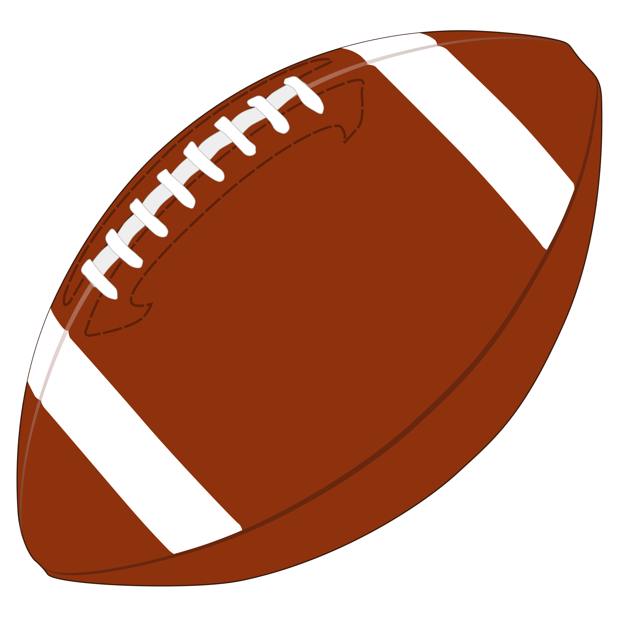 American Football PNG Image
