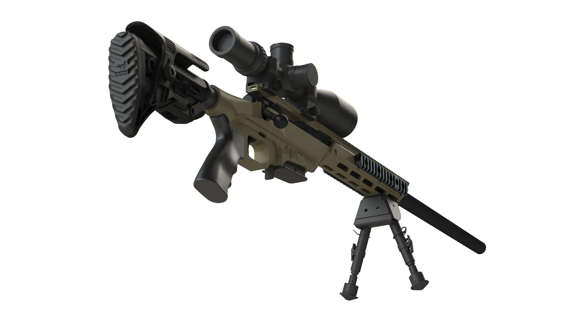 Animated Sniper PNG Image