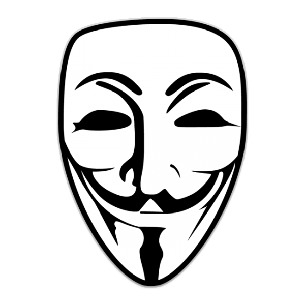 Anonymous Mask PNG Image