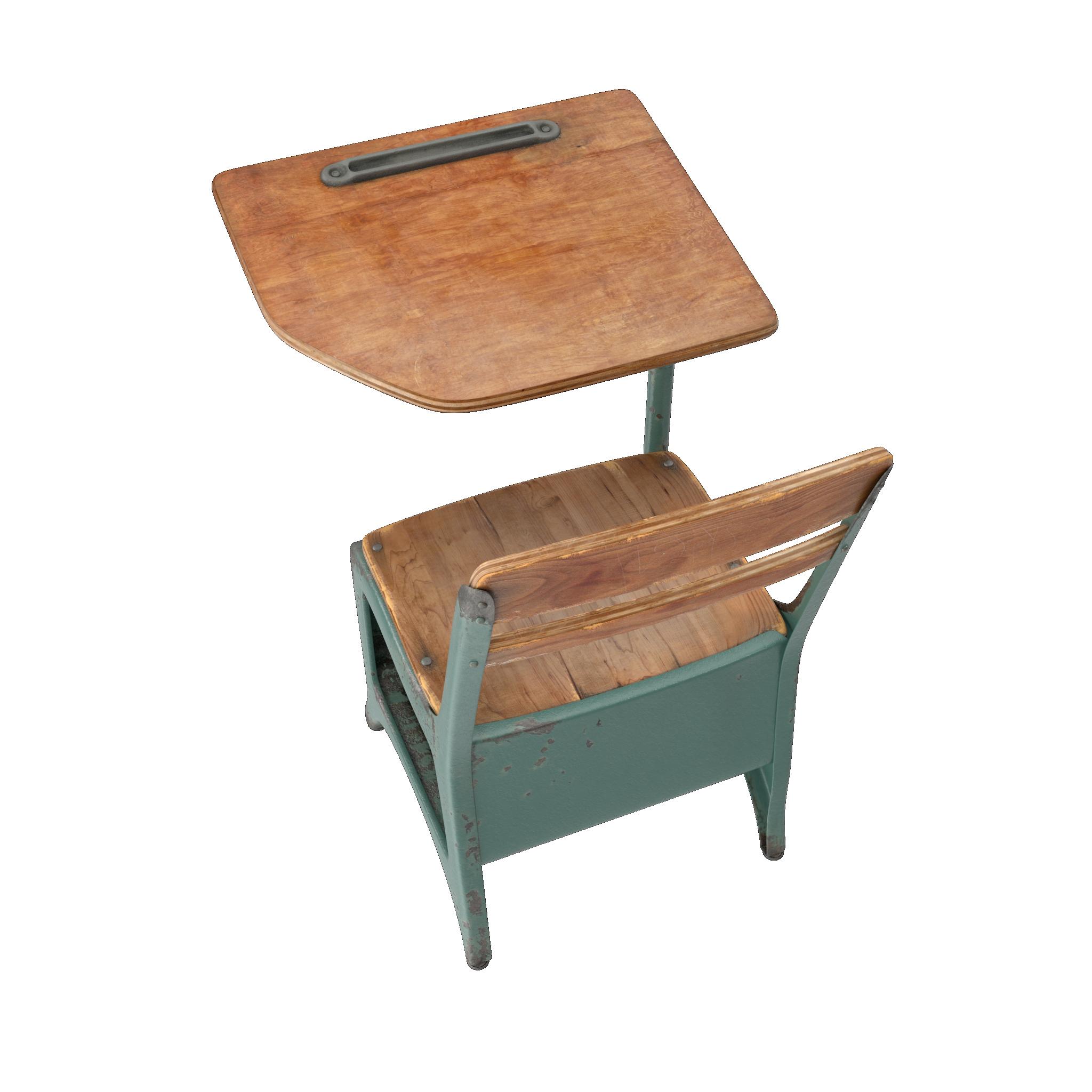 Old Fashioned School Desk Hostgarcia