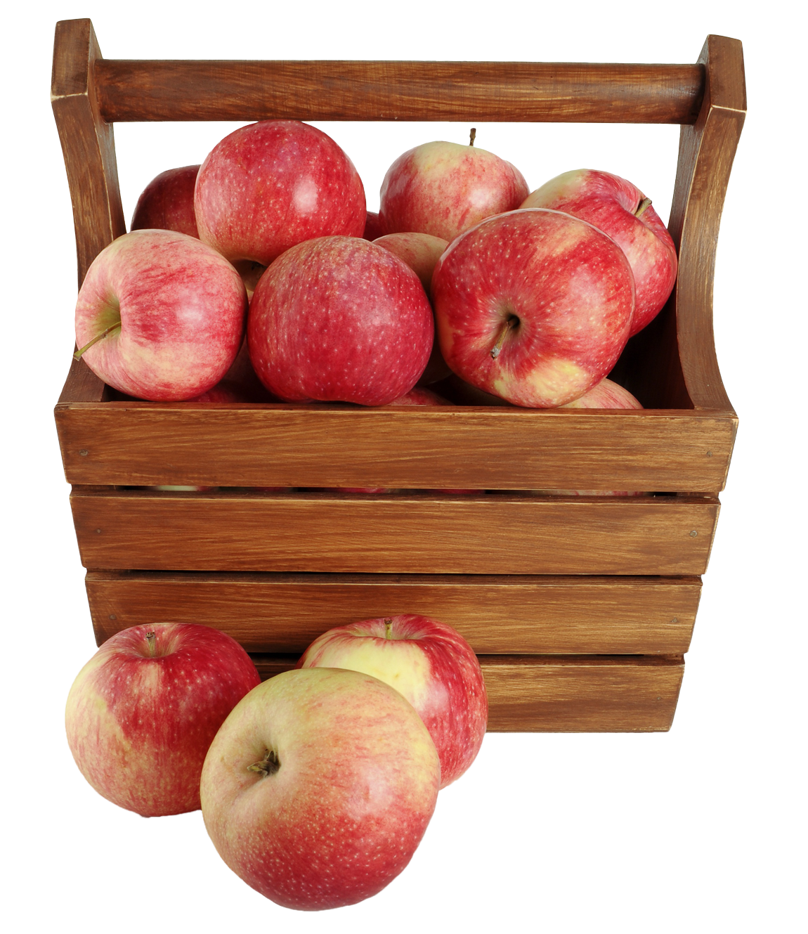 Apple in Basket