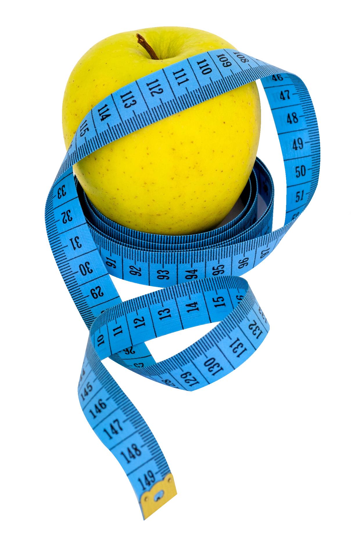Apple Measure Tape