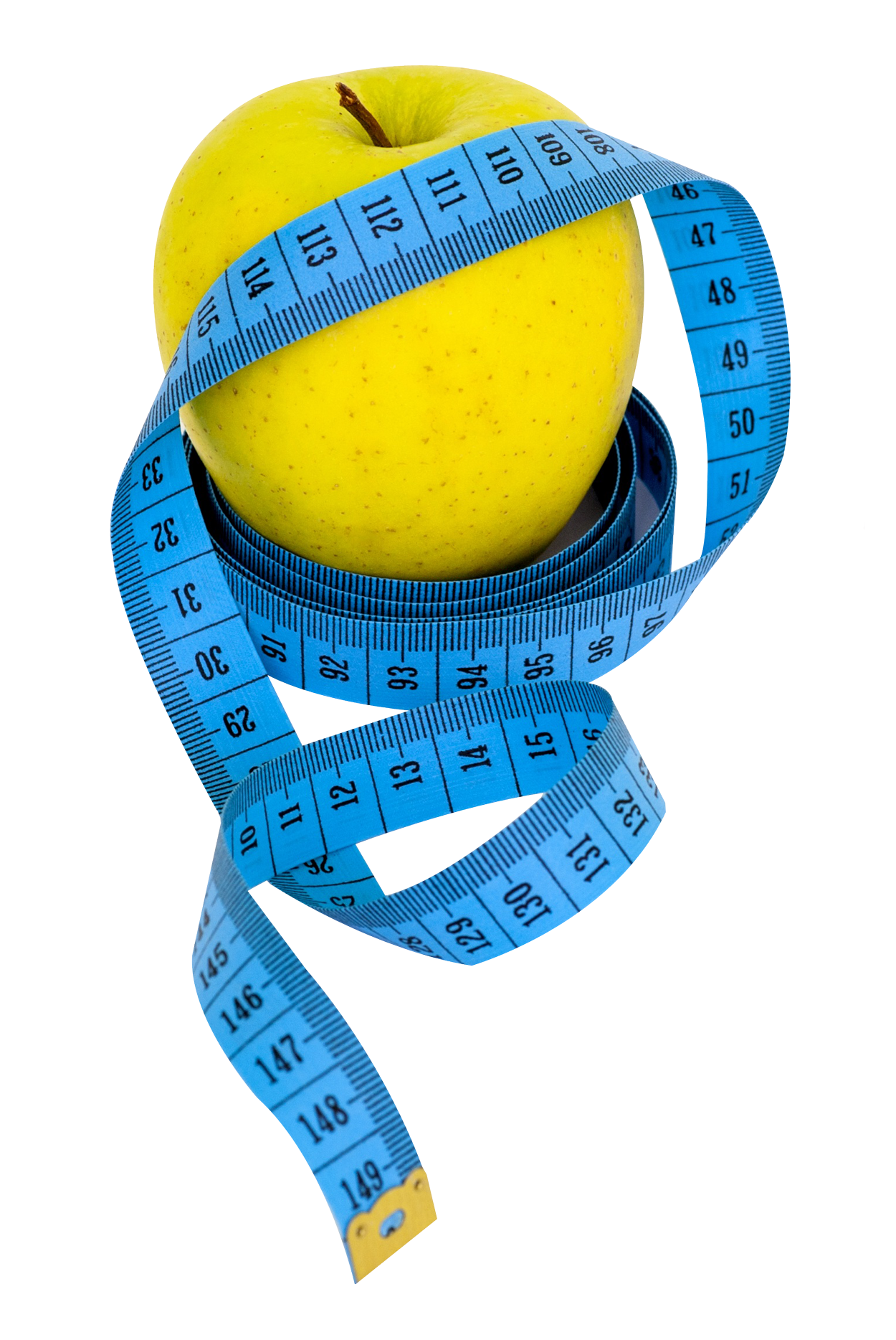 Apple Measure Tape PNG Image
