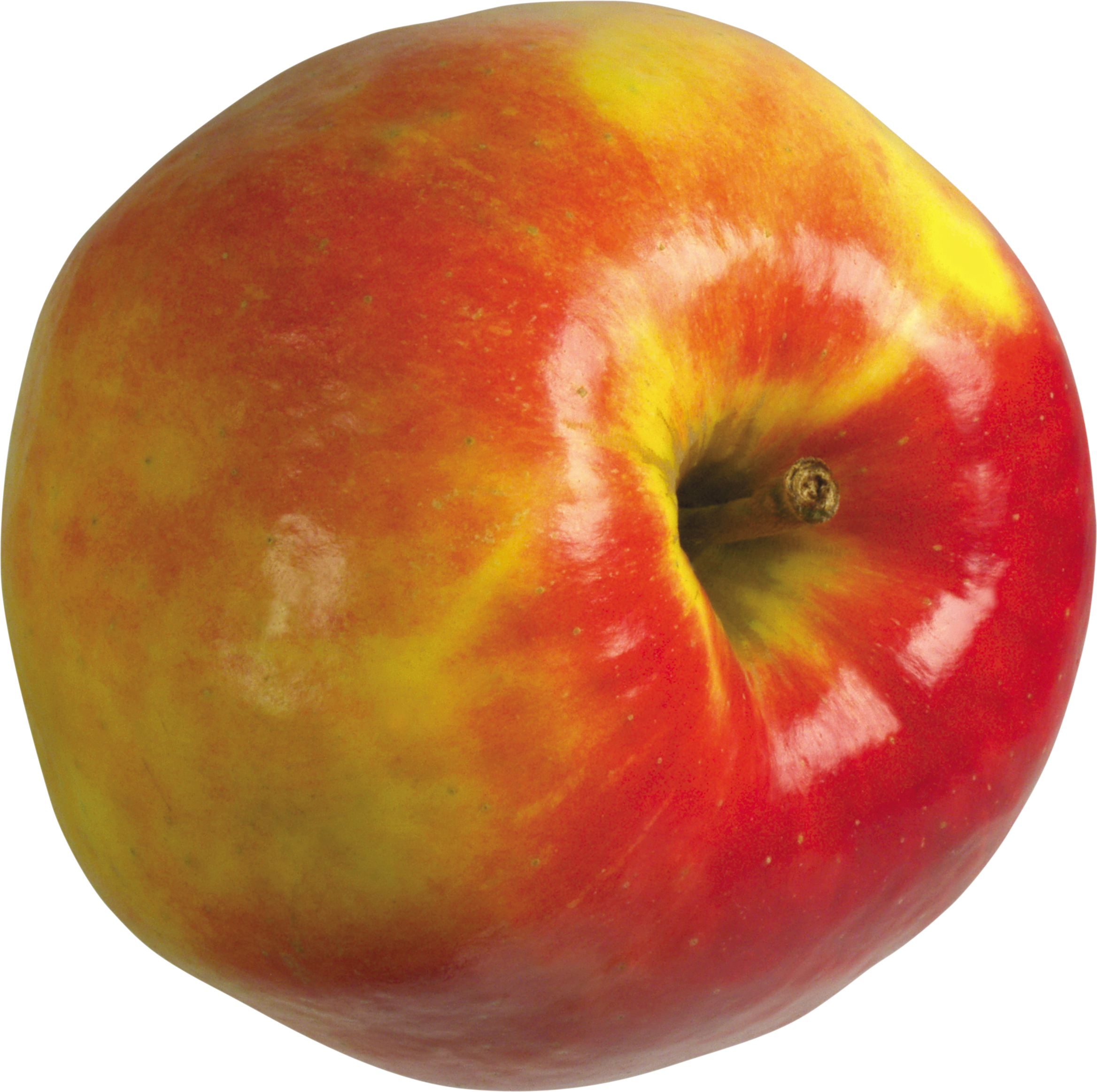 Apple Red and yellow