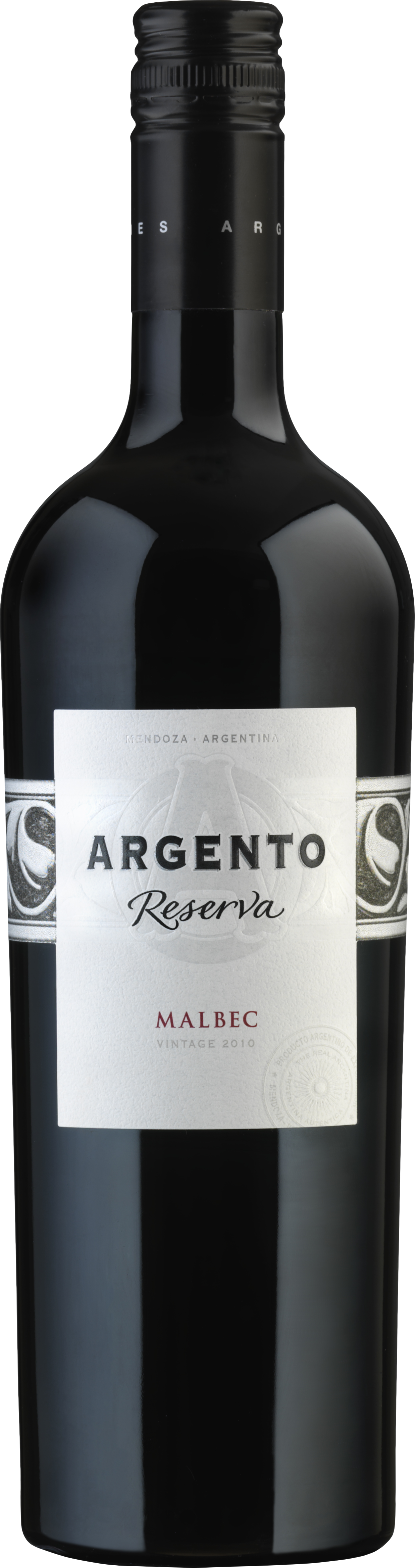 Argento Wine Bottle