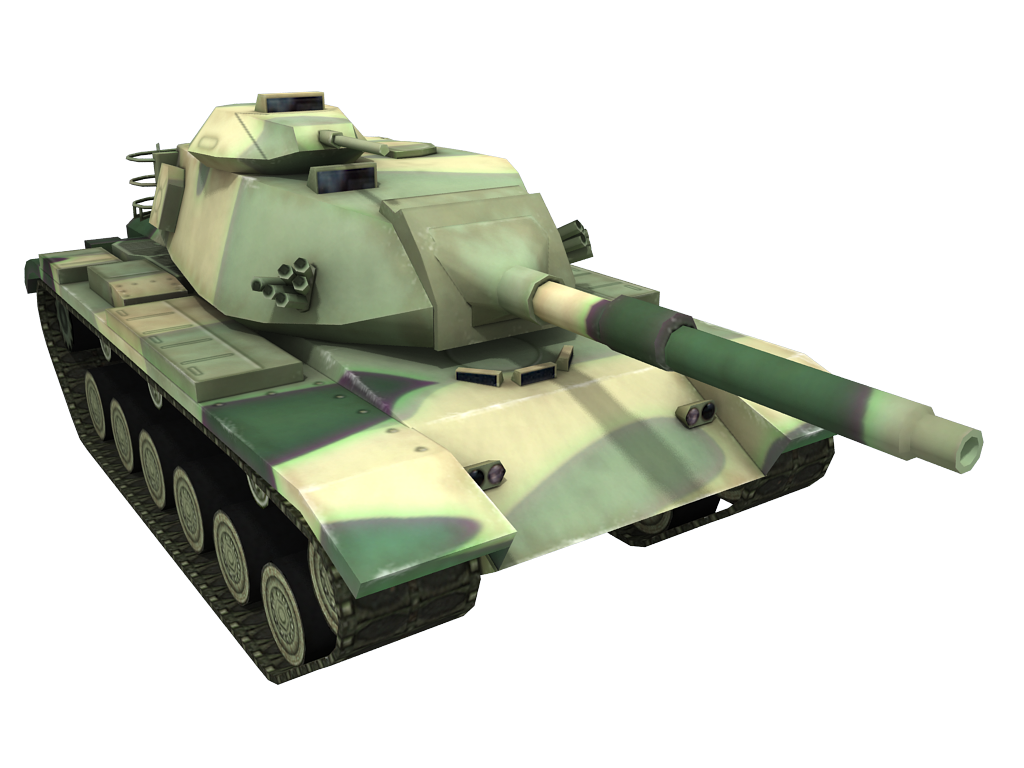 Army Camouflage Tank PNG Image