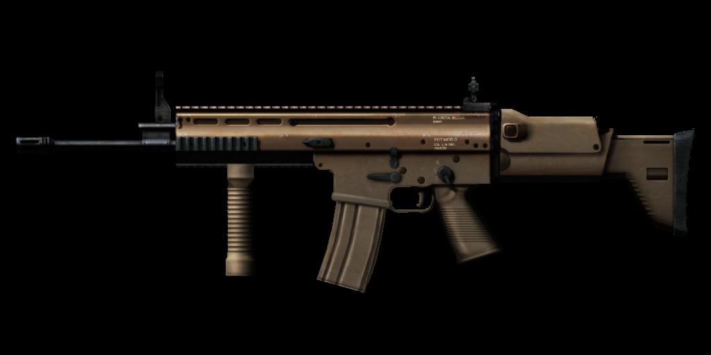 Assault Rifle PNG Image