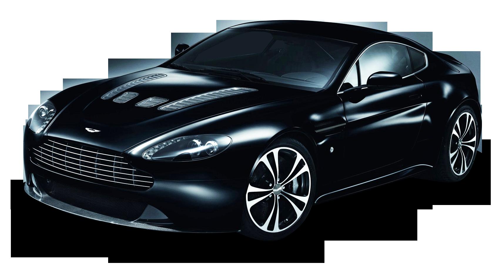 Aston Martin Carbon Black Car PNG Image - PurePNG | Free ...