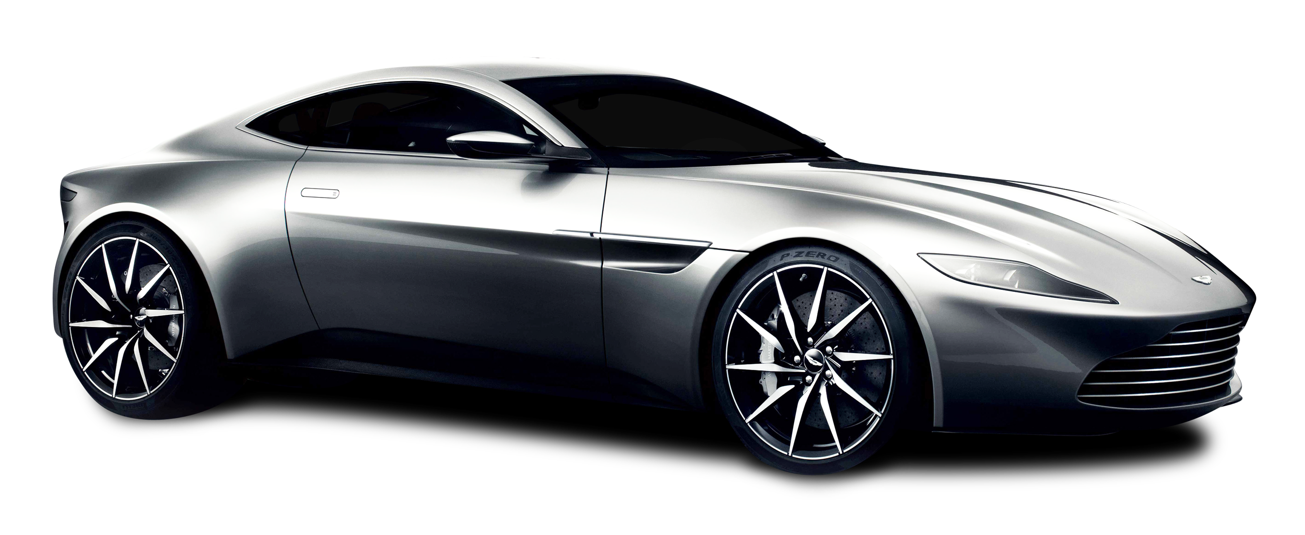 Aston Martin DB10 Silver Car