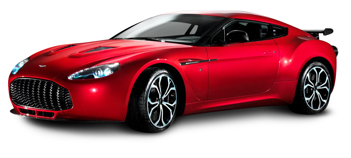 Aston Martin V12 Zagato Red Sports