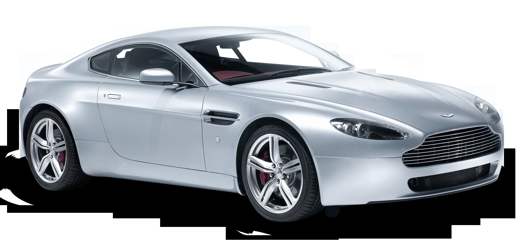 Aston Martin V8 Vantage White Car