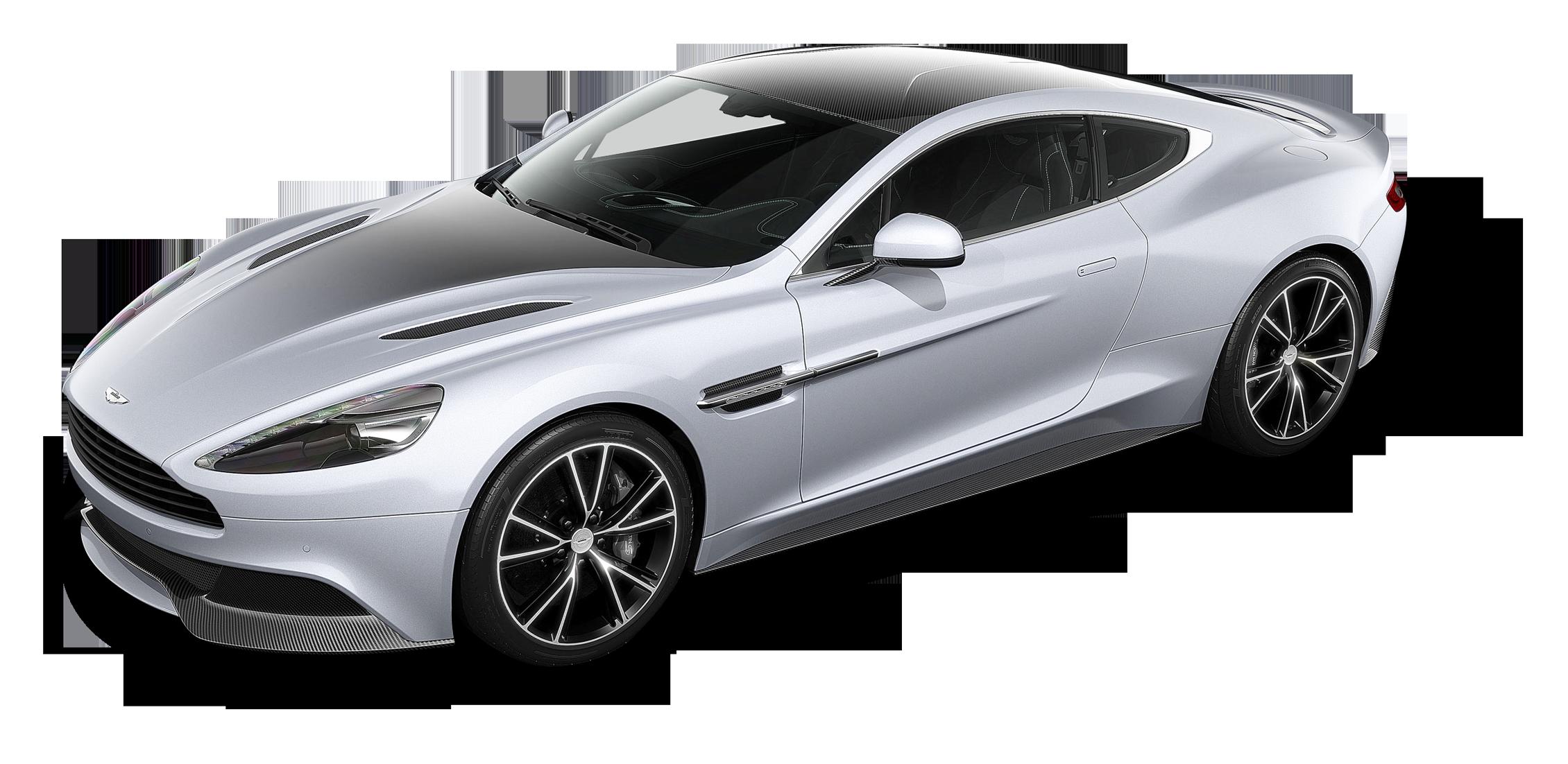 Aston Martin Vanquish CE Silver Car