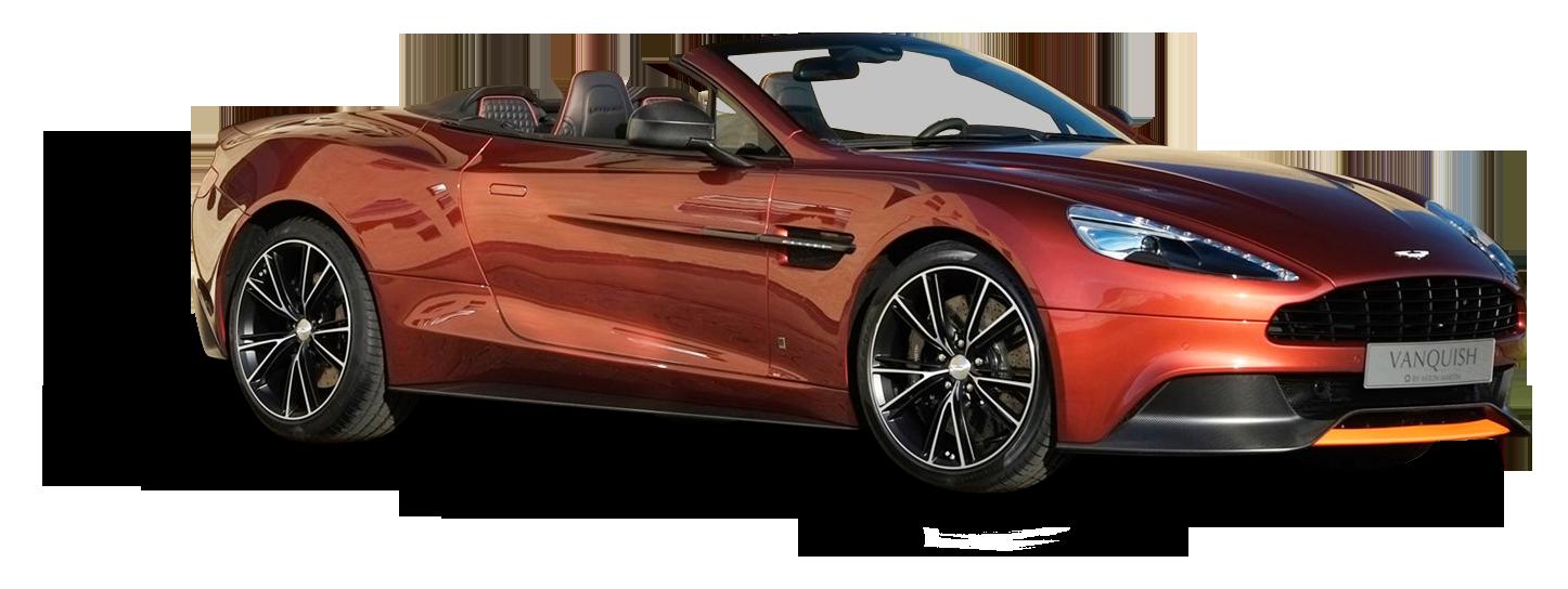 Aston Martin Vanquish Volante Car PNG Image