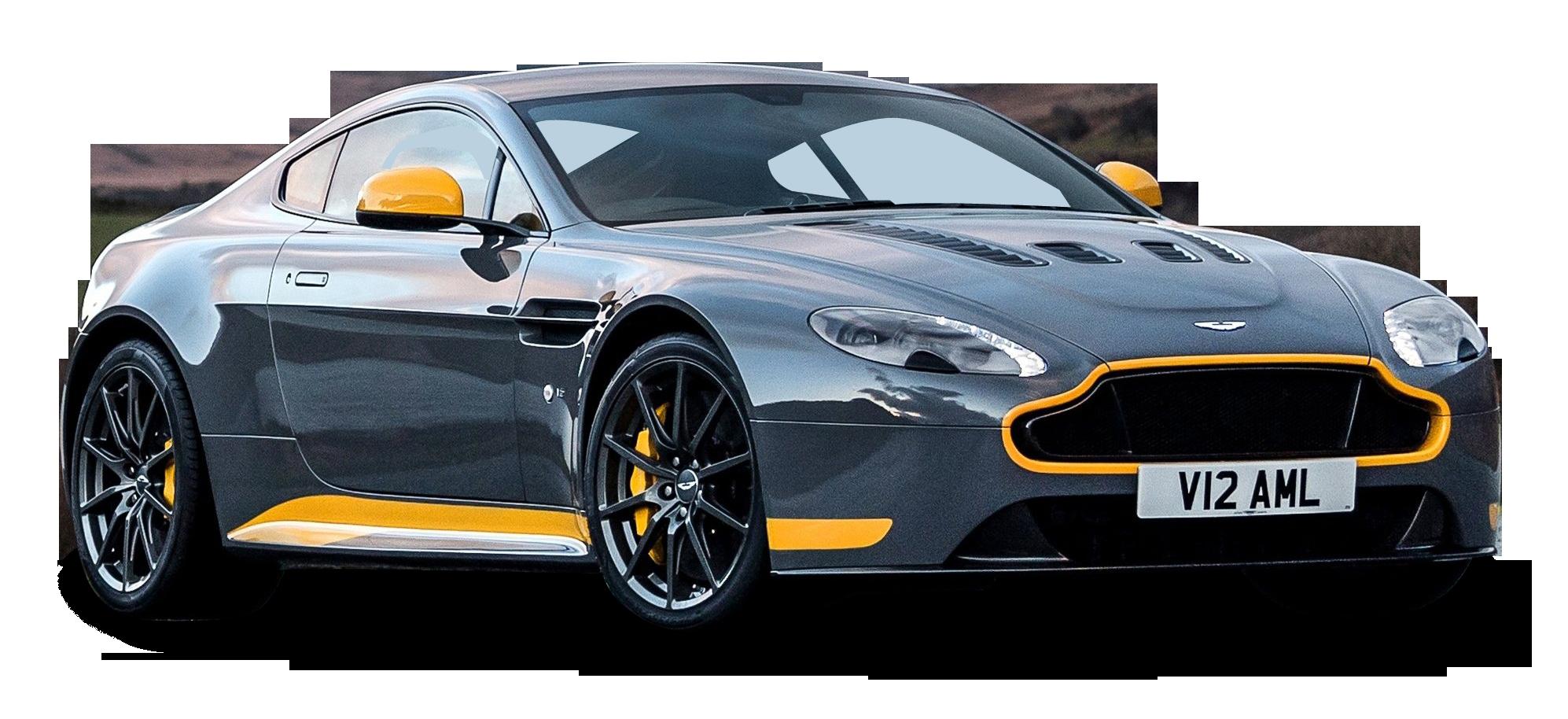 Aston Martin Vantage GT8 Grey Car