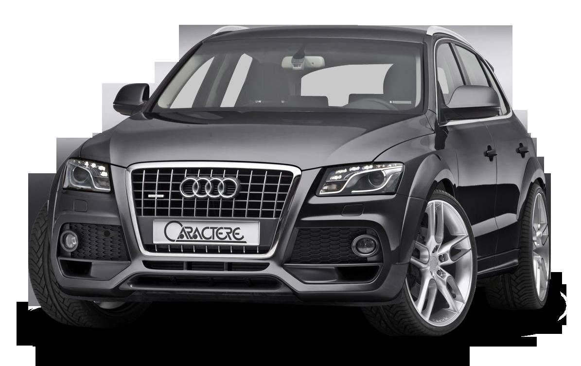 Audi Q5 Caractere Black Car PNG Image