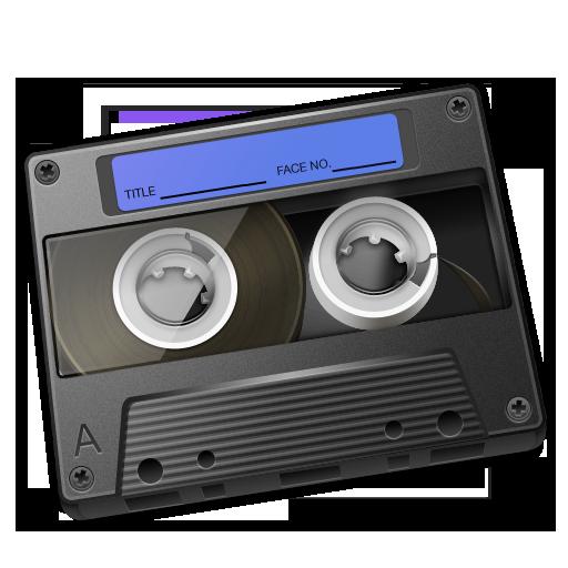 Audio Cassette PNG Image