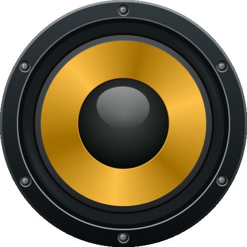 Audio Speaker PNG Image