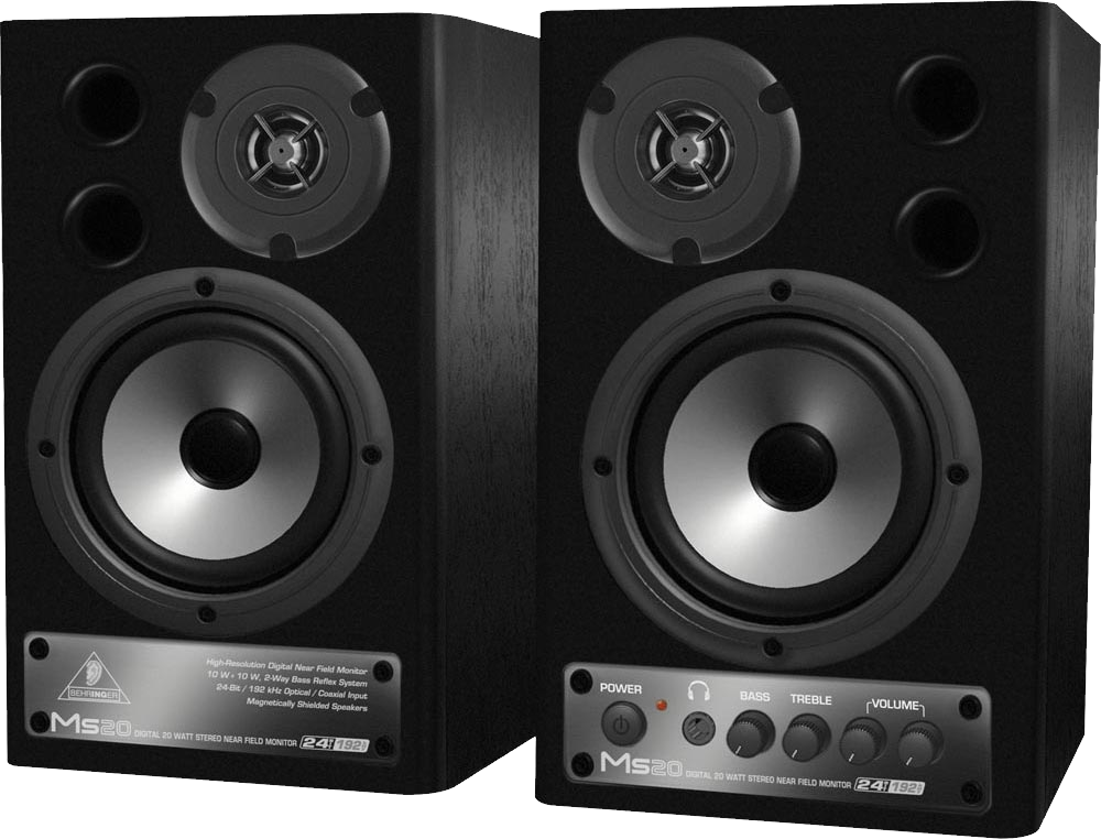 Audio Speakers PNG Image
