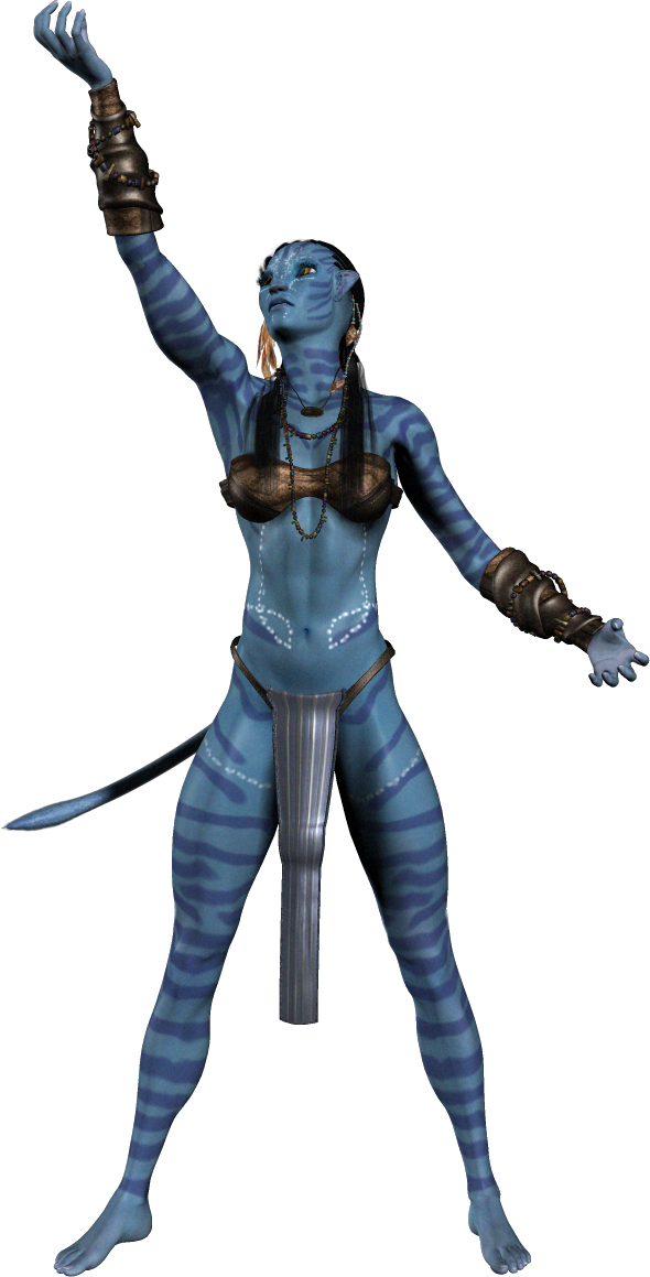 Avatar Neytiri PNG Image