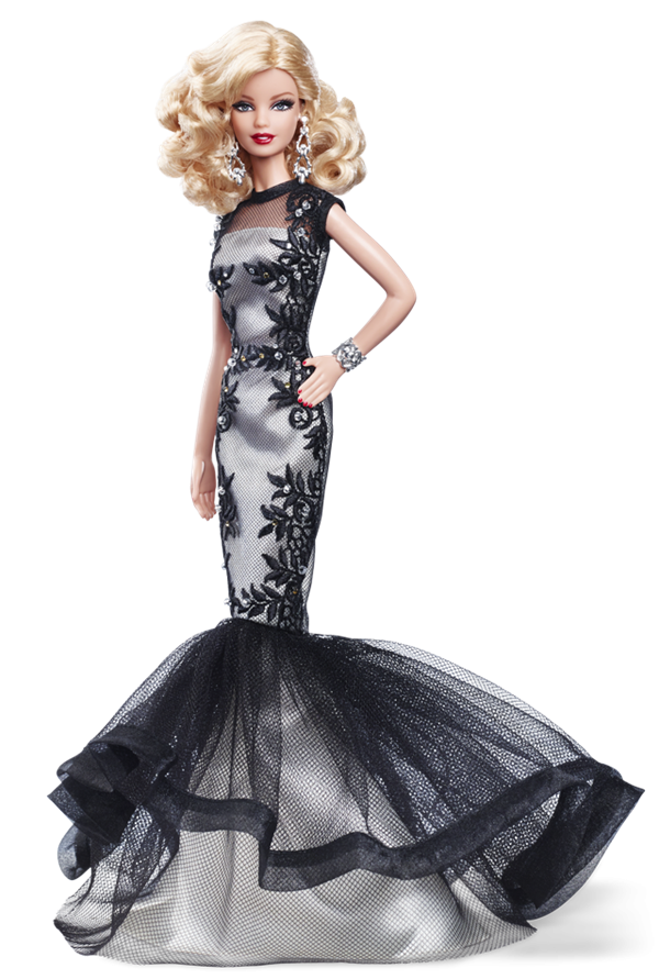 Barbie  Doll Evening Gown