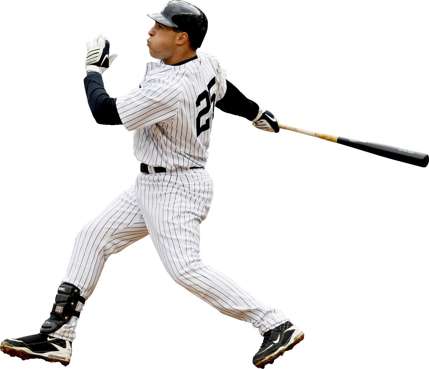 Baseball Player PNG Image