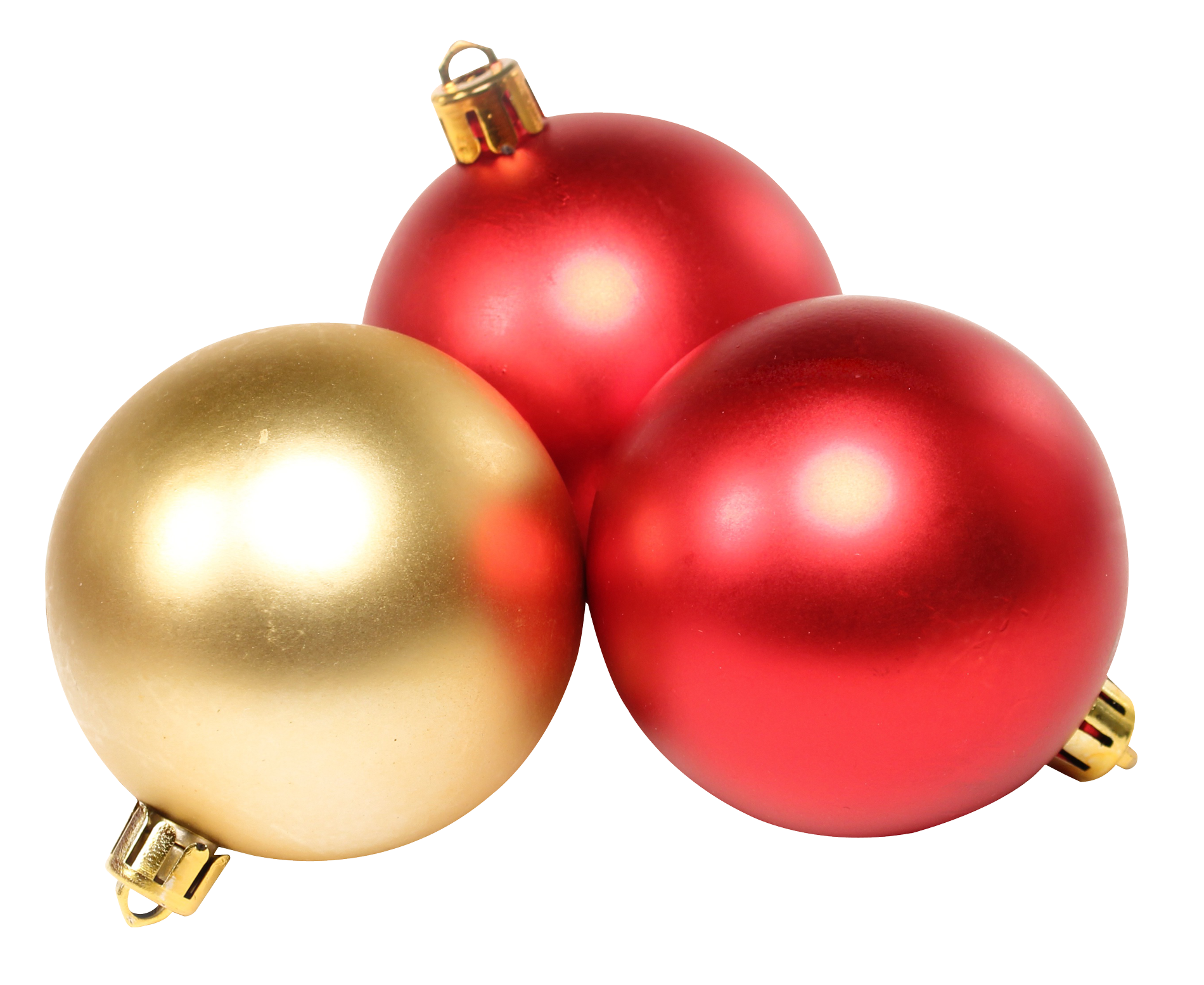 Tree Traditional Christmas Baubles  PNG Image