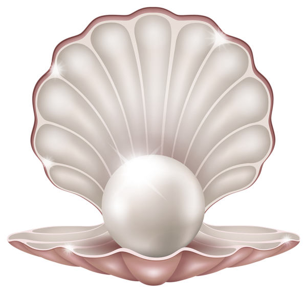 Beautiful Clam WIth Pearl