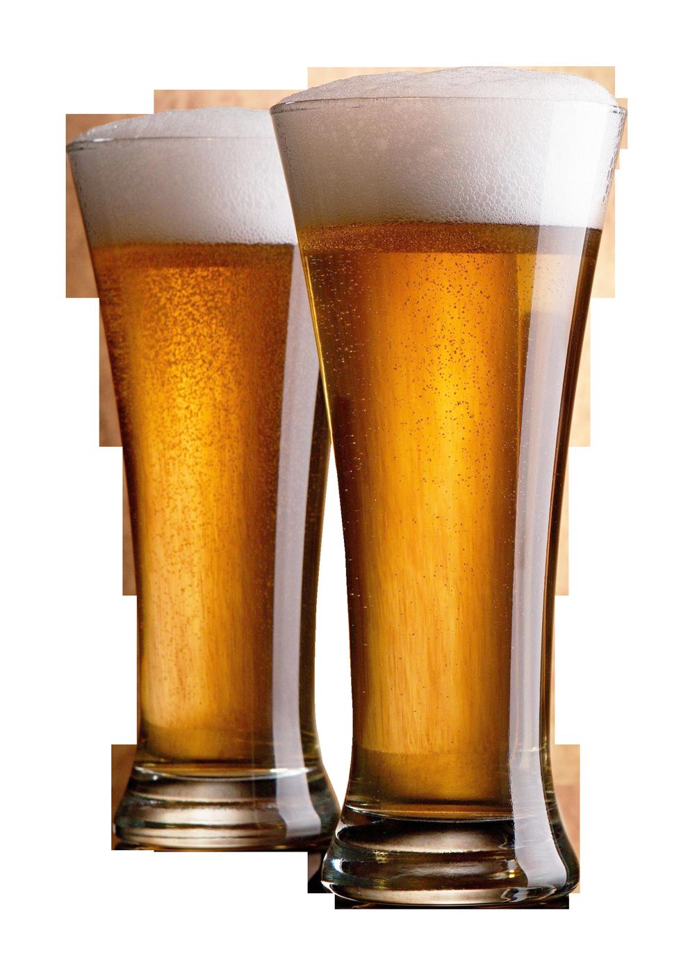 Beer Glasses PNG Image