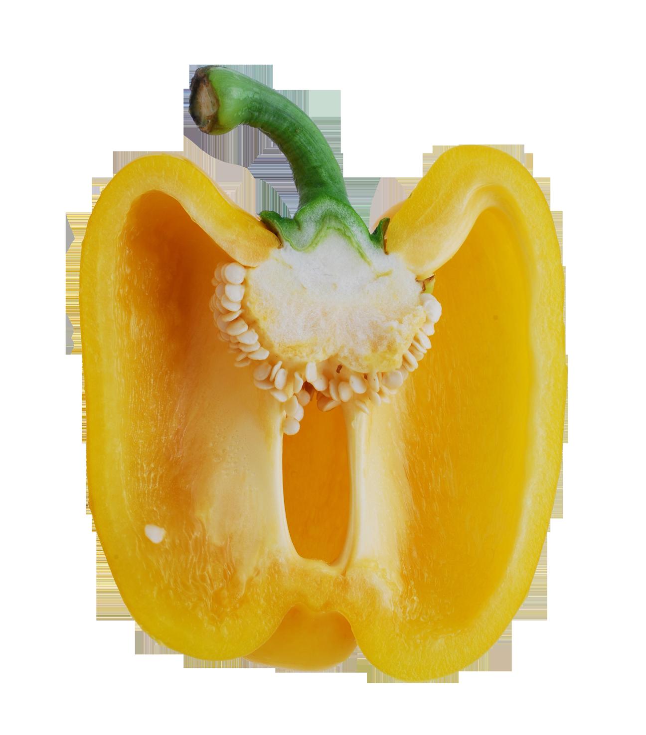Bell Pepper Half PNG Image